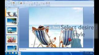 How to create a slideshow in Powerpoint thumbnail