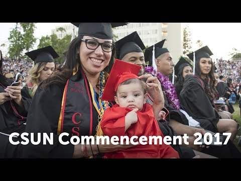 CSUN Commencement 2017: Social & Behavioral Sciences II