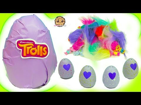Thumbnail: Hatchimals Hatching Surprise Blind Bag Baby Eggs + Dreamworks Trolls Egg