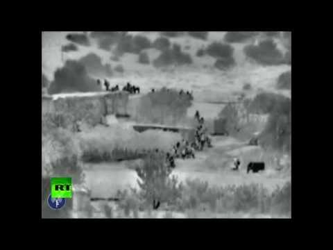 IDF Night Vision Footage of ground op invasion into Gaza