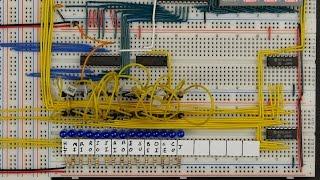 8-bit CPU control signal overview