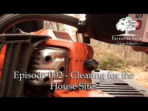 E002 - Forest to Farm - The Beginning: Clearing the Forest