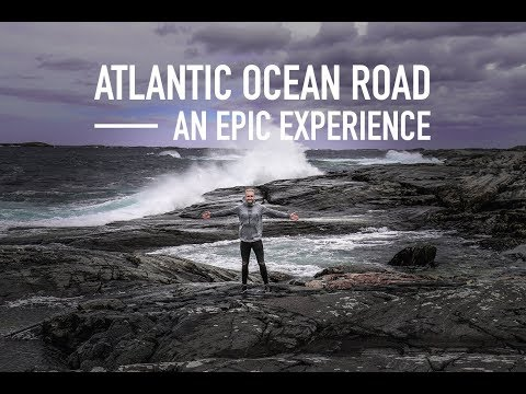 ROUGH NORWEGIAN WEATHER - Atlantic Ocean Road & Molde | Christoph Gun