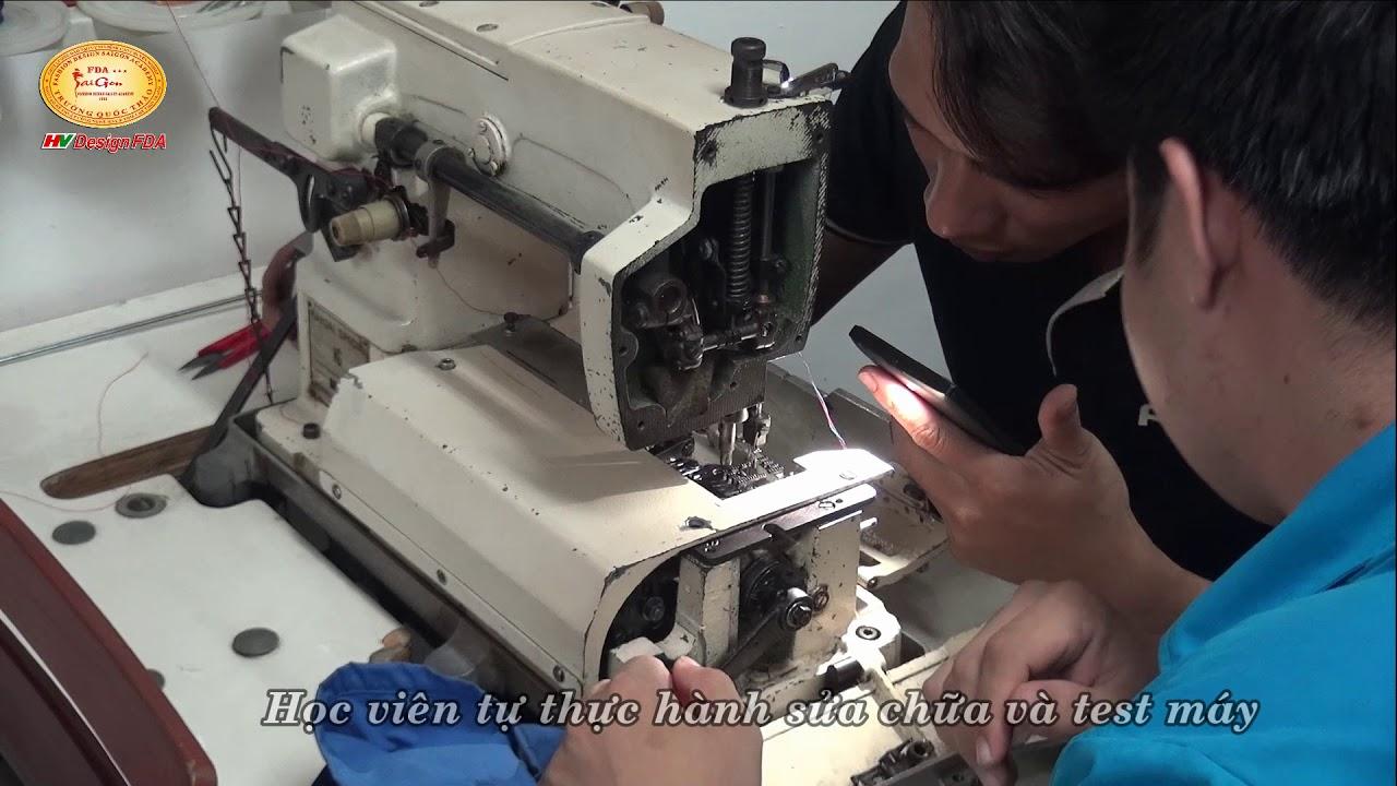 Học khoá bảo trì sửa chữa máy may công nghiệp tại Trường Quốc Thảo