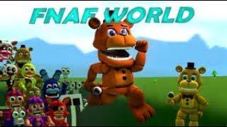 FNaF World - serbest takılmaca
