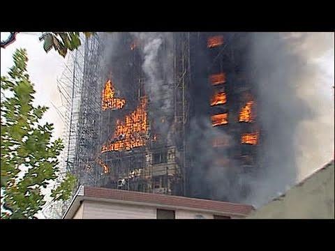 Cháy chung cư Thượng Hải