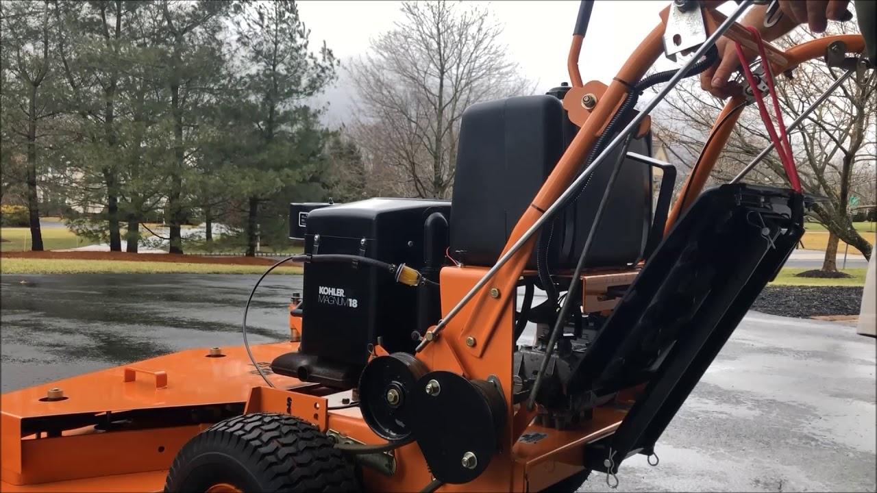 Kohler losing power under load | LawnSite