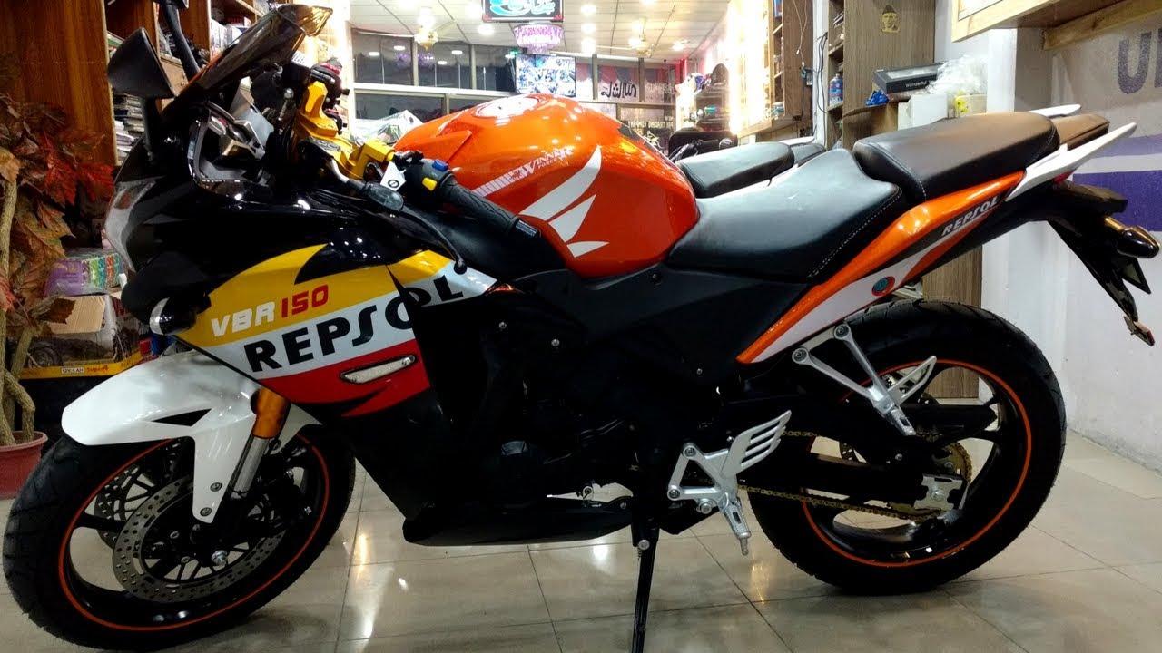 honda cbr  repsol  replica  zongshen winner vbr cc full review  pk bikes youtube
