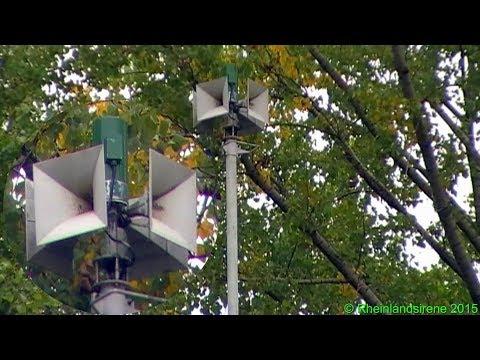 Große Sirenenprobe HLS 273 Köln-Porz - Alte Pneumatische Hochleistungssirene