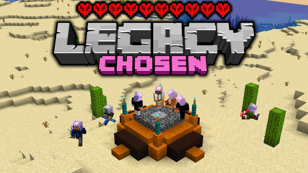 Legacy Chosen: HARDCORE COMPETITIVE Challenge - Day 1 [Minecraft 1.16 Multiplayer]