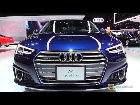 2019 Audi A4 Quattro - Exterior and Interior Walkaround - 2018 LA Auto Show