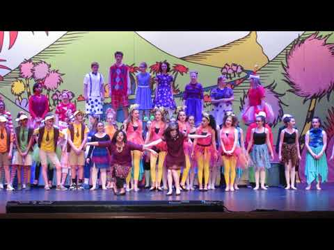 Seussical Jr. at Oakwood Middle School Green Eggs & Ham Finale Bows