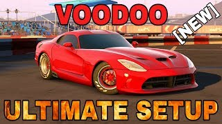 VOODOO Ultimate Setup + Test Drive! (Dodge Viper Ultimate)   One Of The Best Cars   CarX