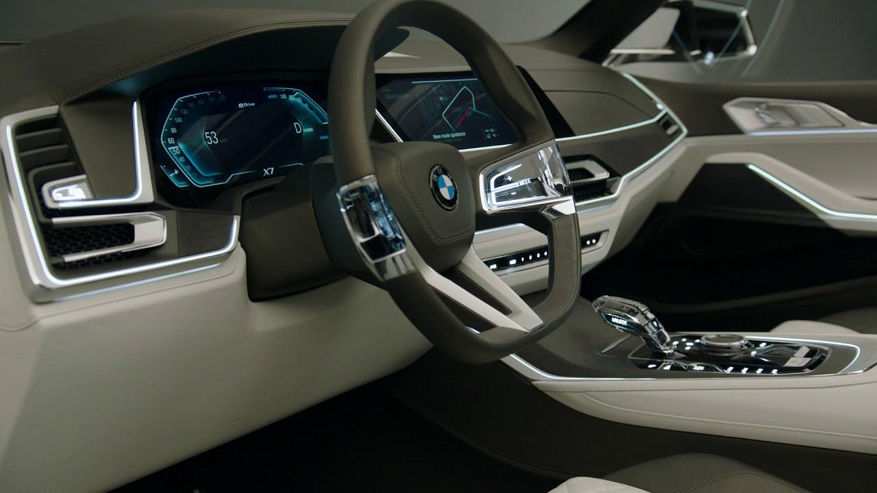 Bmw Concept X7 Iperformance Interior Design Youtube