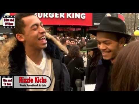 Rizzle Kicks Red Carpet Interview at Shaun the Sheep: The Movie Premiere