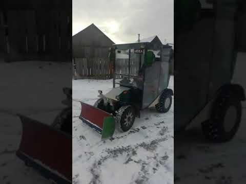 работа тракторка от подписчика