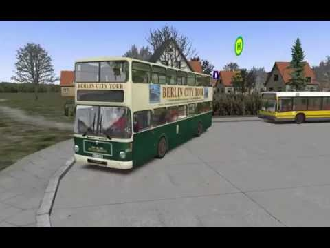 Omsi 2 bus simulator Maps:New Berlin. Line: X33 .