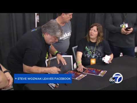 Apple co-founder Steve Wozniak shutting down Facebook account