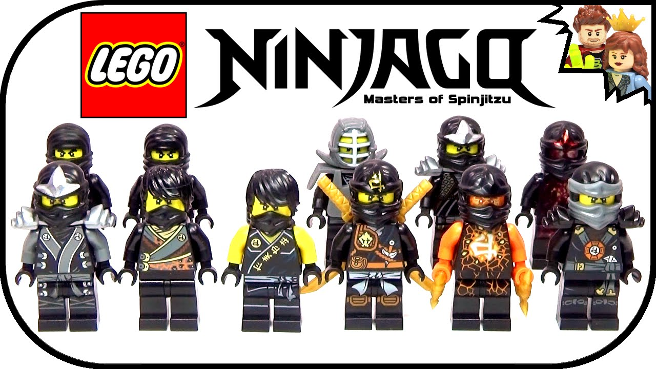 lego ninjago cole ultimate ninja collection 2015 youtube