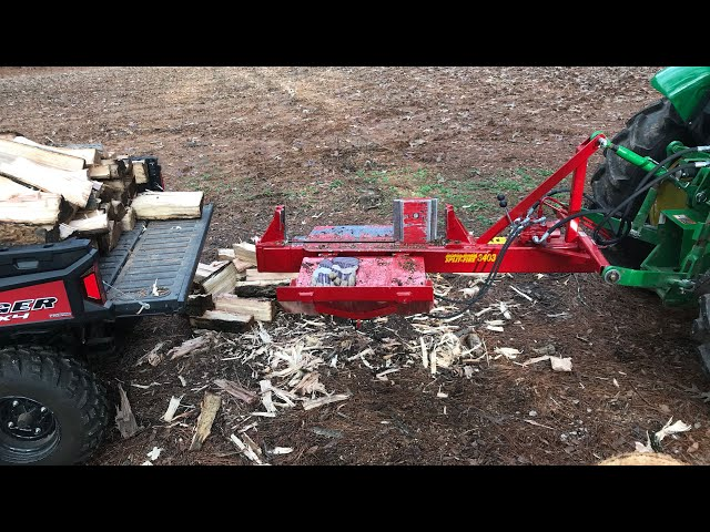 Split-Fire 3403 Log Splitter Fired Up and Ready for Action (83)