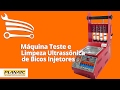 Demonstração LB 30000 Máquina Automática p/ Testes e Limpeza de Bicos Injetores - Loja do Mecânico