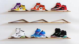 Bent Lamination Sneaker Display Shelf | #RocklerBentWoodChallenge