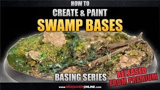 how to create paint swamp bases