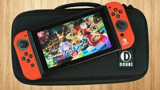 the perfect nintendo switch travel case   doubi switch carrying case review