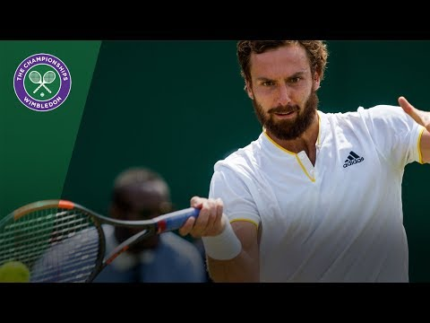 Juan Martin del Potro v Ernests Gulbis highlights - Wimbledon 2017 second round