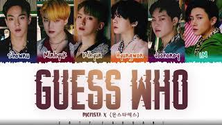 MONSTA X - 'GUESS WHO'…