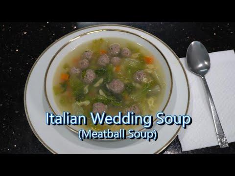 Italian Grandma Makes Italian Wedding Soup (Meatball Soup)