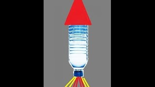 Homemade Water Bottle Rocket and How to Make it