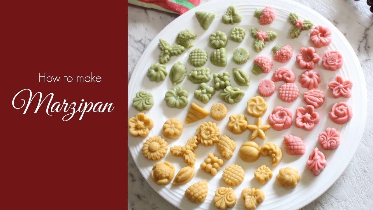 How to make Marzipan  Marzipan recipe using Cashew Nuts  Goan Christmas  Sweets  Kuswar