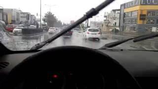 Yağmurlu Havada Araba Sürme l Şekilli Honda Civic Yakaladık :)