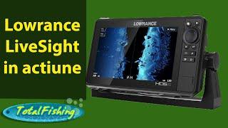 Lowrance LiveSight in actiune...