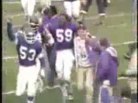 Vikings vs Browns 1980 Tommy Kramer last second hail mary to Ahmad Rashad for the win!