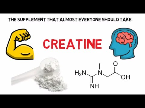 The supplement that almost EVERYONE should take | Creatine