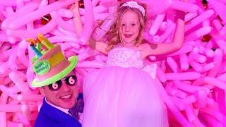 Nastya y su fiesta de cumpleaños de 6 años