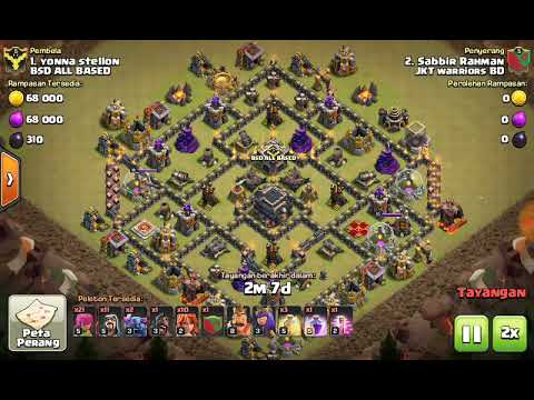 Base War Th 9 Anti Udara Dan Darat 1