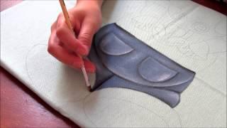 Pintura em tecido: Zebrinha Jurema – Parte 1