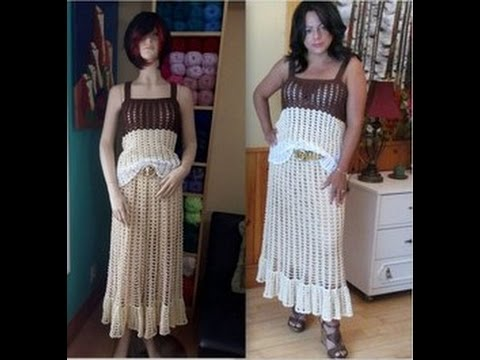 8384ef2b5 Crochet juego de falda y blusa, (La blusa) - con Ruby Stedman
