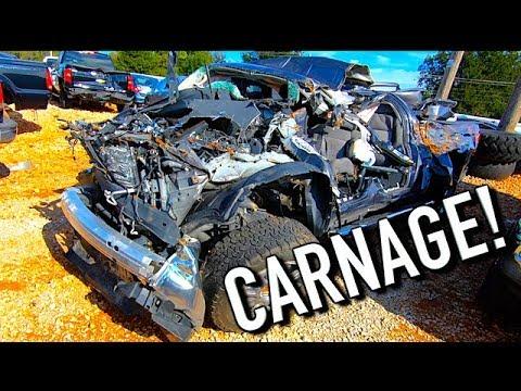 Copart Walk Around Video + Carnage + 10-16-18
