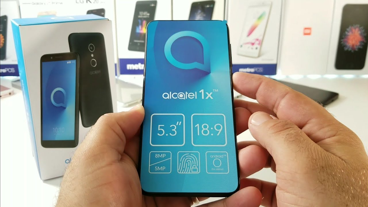 Alcatel 1X Android Go Edition Unboxing and Hands-On