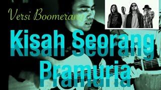 Download lagu Belajar bermain lagu kisah seorang pramuria versi Boomerang kunci lirik MP3