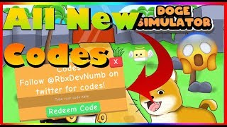 *ALL* New Doge Simulator Codes (2019) |ROBLOX