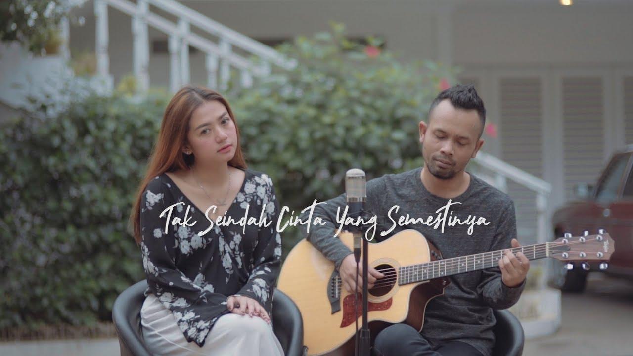 TAK SEINDAH CINTA YANG SEMESTINYA - NAFF ( Ipank Yuniar ft. Kiki Jecky Cover & Lirik )