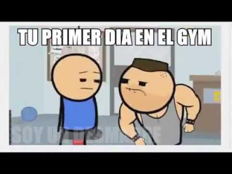 Tu primer dia en el gym youtube for En el gimnasio