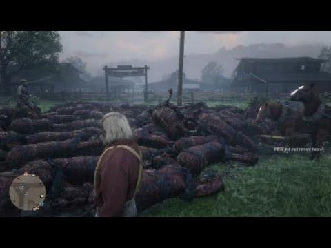 "Horror-Glitch in ""Red Dead Online"": Überall tote Pferde!"