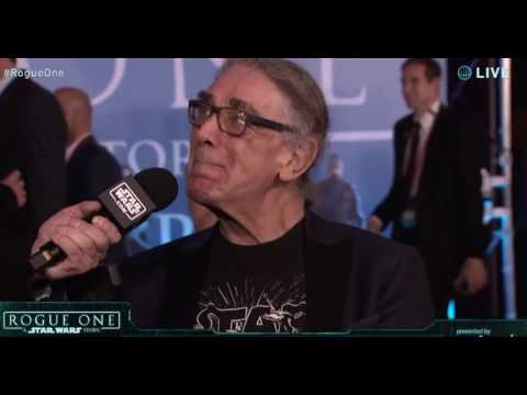 Peter Mayhew Interview - Rogue One A Star Wars Story Red Carpet World Premiere