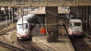 Zugsichtungen / Basel Badischer Bahnhof + Basel SBB / 2014-02-10 HD